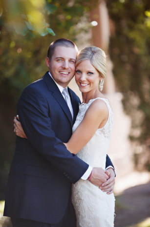 Arizona wedding planner photograph of bride and groom.