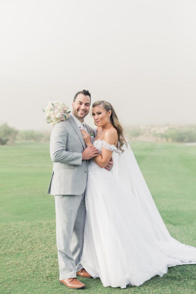 Desert Whim Arizona Outdoor Tuscan Wedding (17)